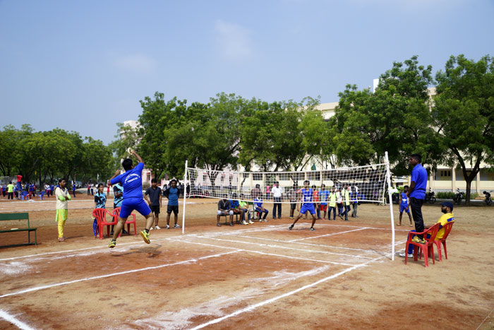 Tennikoit Boys - State Level Intercollegiate Sports Meet Sponsored by The Tamil Nadu Dr. MGR Medical University, Chennai, on 08 - 10 Dec 2017