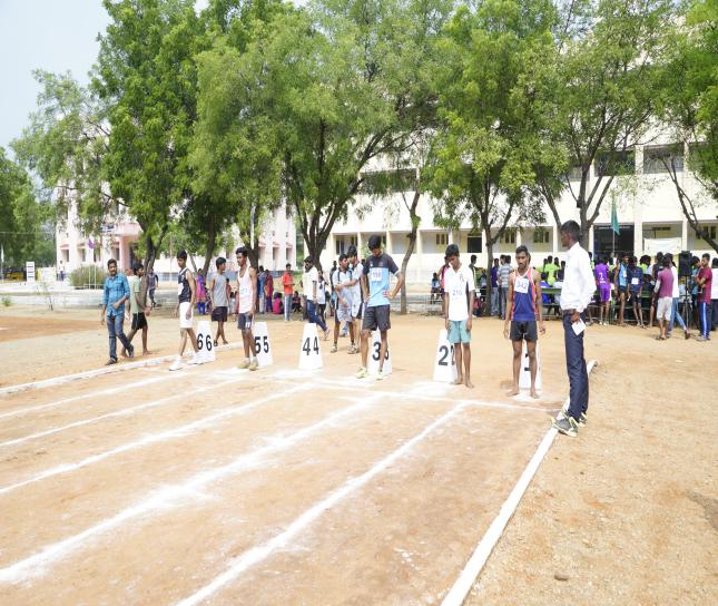 100 M Boys - State Level Intercollegiate Sports Meet Sponsored by The Tamil Nadu Dr. MGR Medical University, Chennai, on 08 - 10 Dec 2017