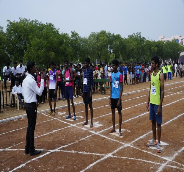800 M Boys - State Level Intercollegiate Sports Meet Sponsored by The Tamil Nadu Dr. MGR Medical University, Chennai, on 08 - 10 Dec 2017