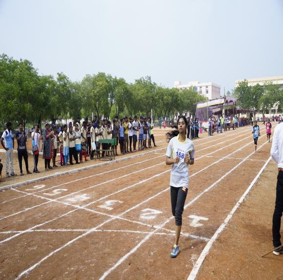 800 M Girls - State Level Intercollegiate Sports Meet Sponsored by The Tamil Nadu Dr. MGR Medical University, Chennai, on 08 - 10 Dec 2017