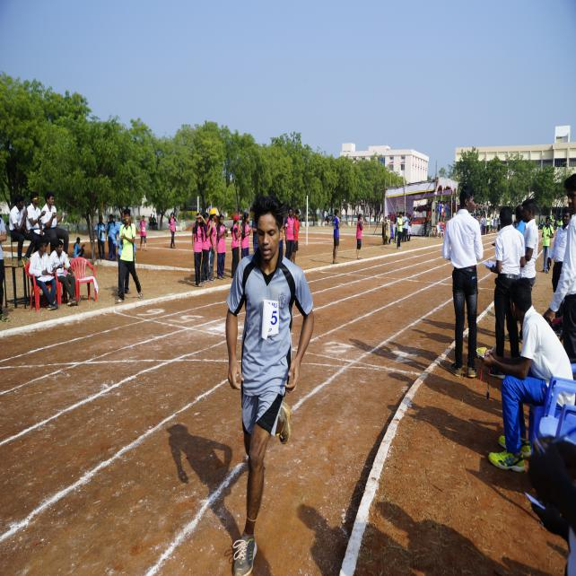 1500 M Boys - State Level Intercollegiate Sports Meet Sponsored by The Tamil Nadu Dr. MGR Medical University, Chennai, on 08 - 10 Dec 2017