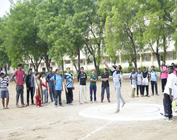 Discuss Throw (Girls) - State Level Intercollegiate Sports Meet Sponsored by The Tamil Nadu Dr. MGR Medical University, Chennai, on 08 - 10 Dec 2017